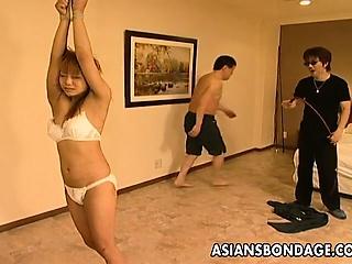 Hot Asian bondage masturbation chapter