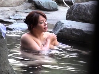 Outdoors sex scene with floozy procurement fingered added to screwed