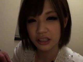 Hot-tempered nipponese gal 's vag is rammed hard
