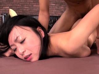 Nozomi Hazuki removes undies - More within reach 69avs.com