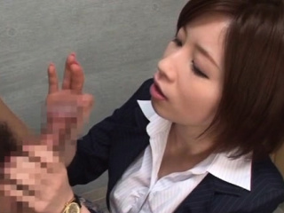 Sweet Saki Okuda performed adore rocket jerking in style
