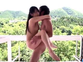 Misaki Oosawa loves handling so sponger - More at JavHD.net