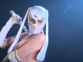Hot and raunchy fetish scene with Japanese babe Rinka