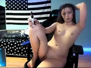 Young korean live masturbate